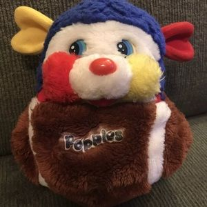 Other - 1986 MATTEL Plush FOOTBALL Touch Down POPPLES